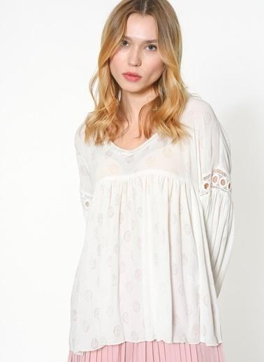 Jovonna Bluz Beyaz
